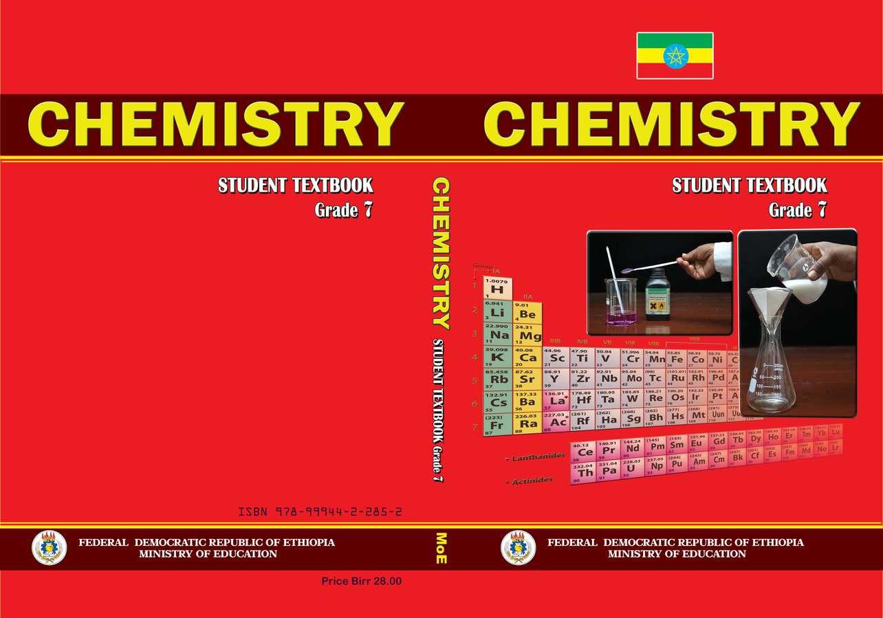 Chemistry grade 7                                  page 1