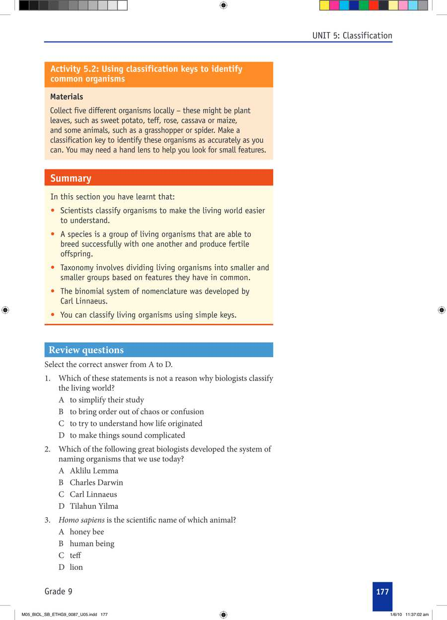 Biology grade 9                                      part 3                                  page 7