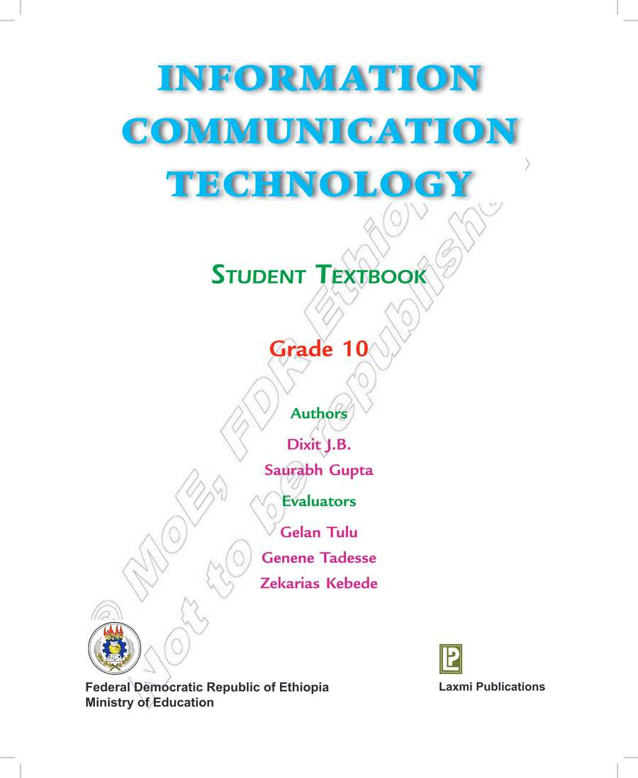 ICT grade 10                                  page 1