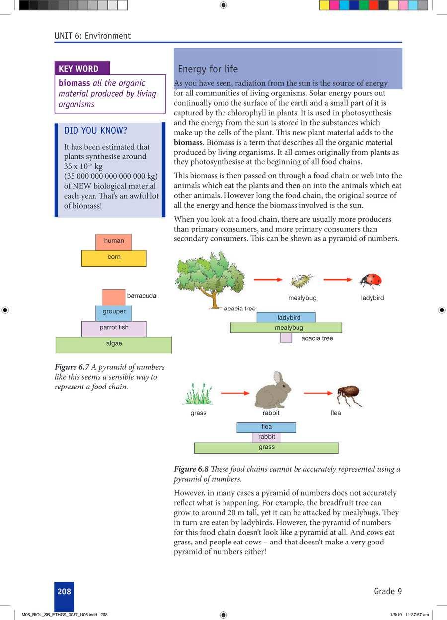 Biology grade 9                                      part 3                                  page 38