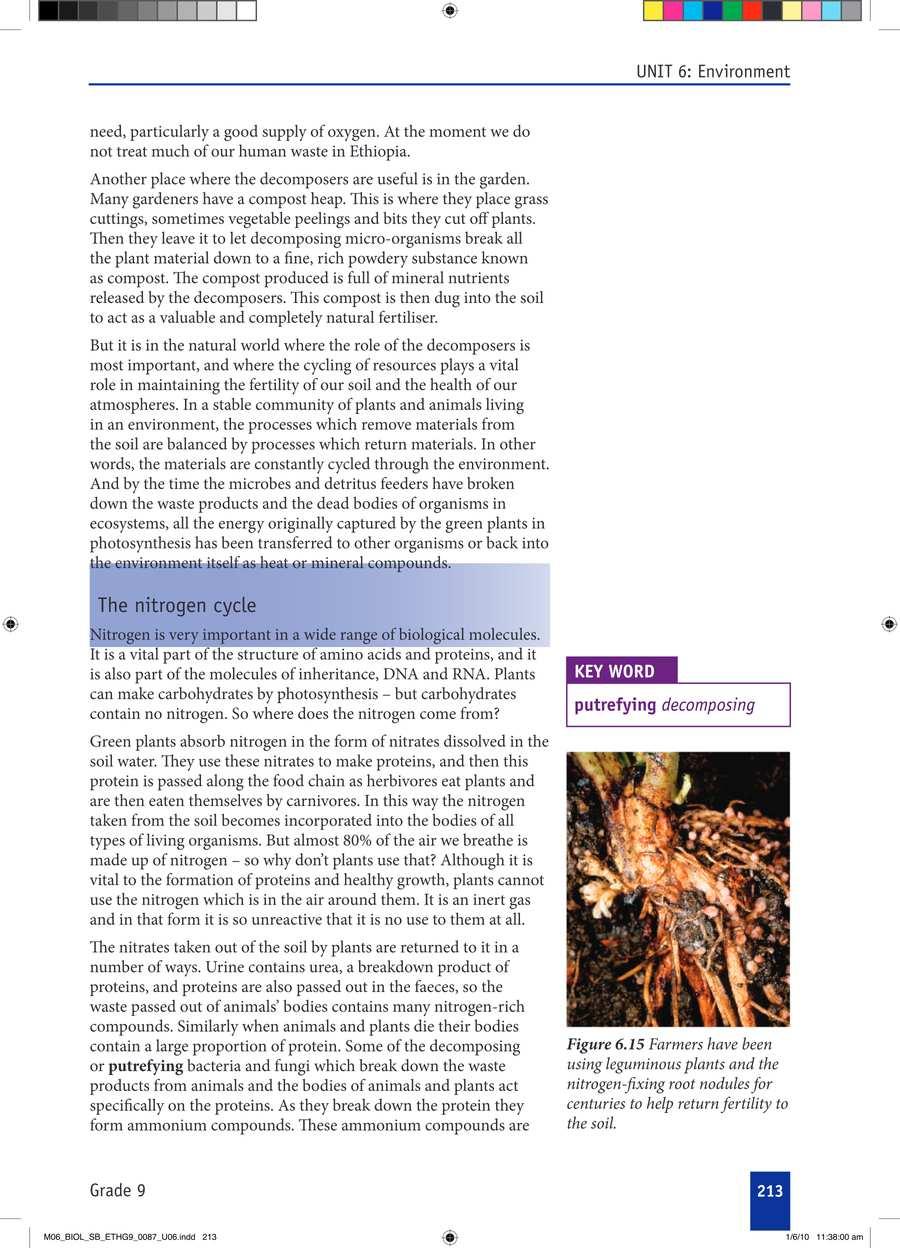 Biology grade 9                                      part 3                                  page 43
