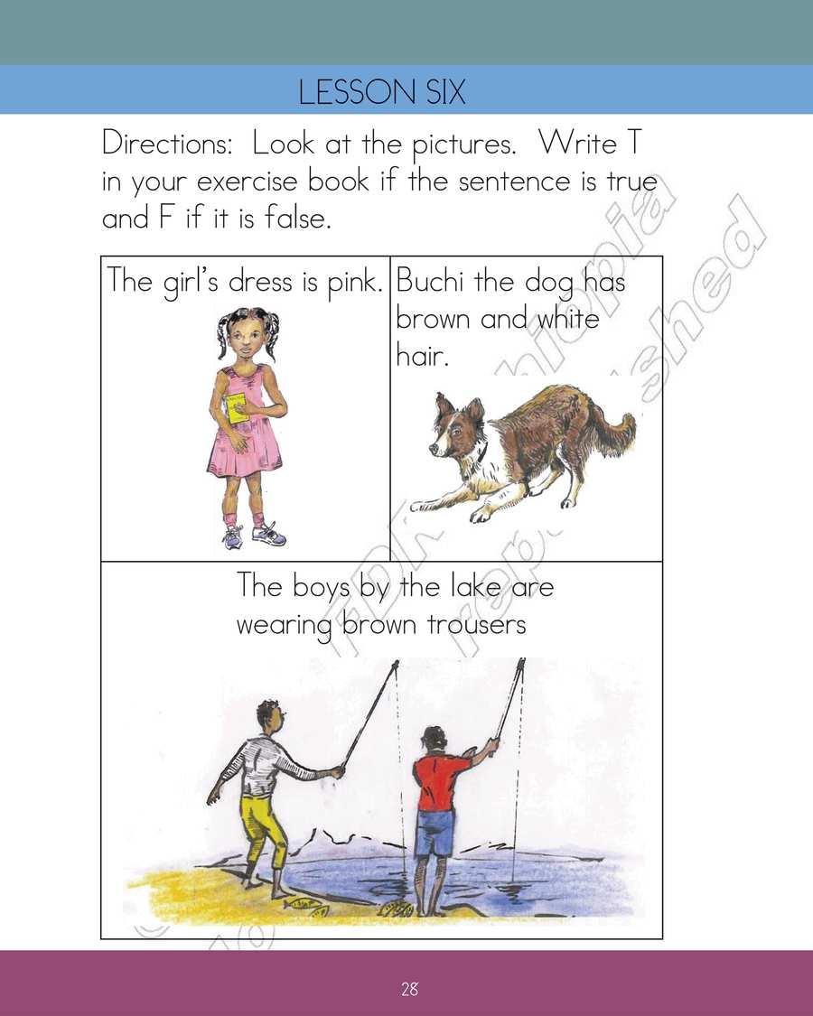 English grade 2                                  page 34