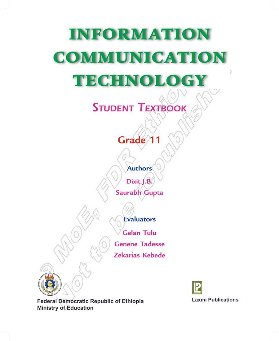 ICT grade 11                                  page 1