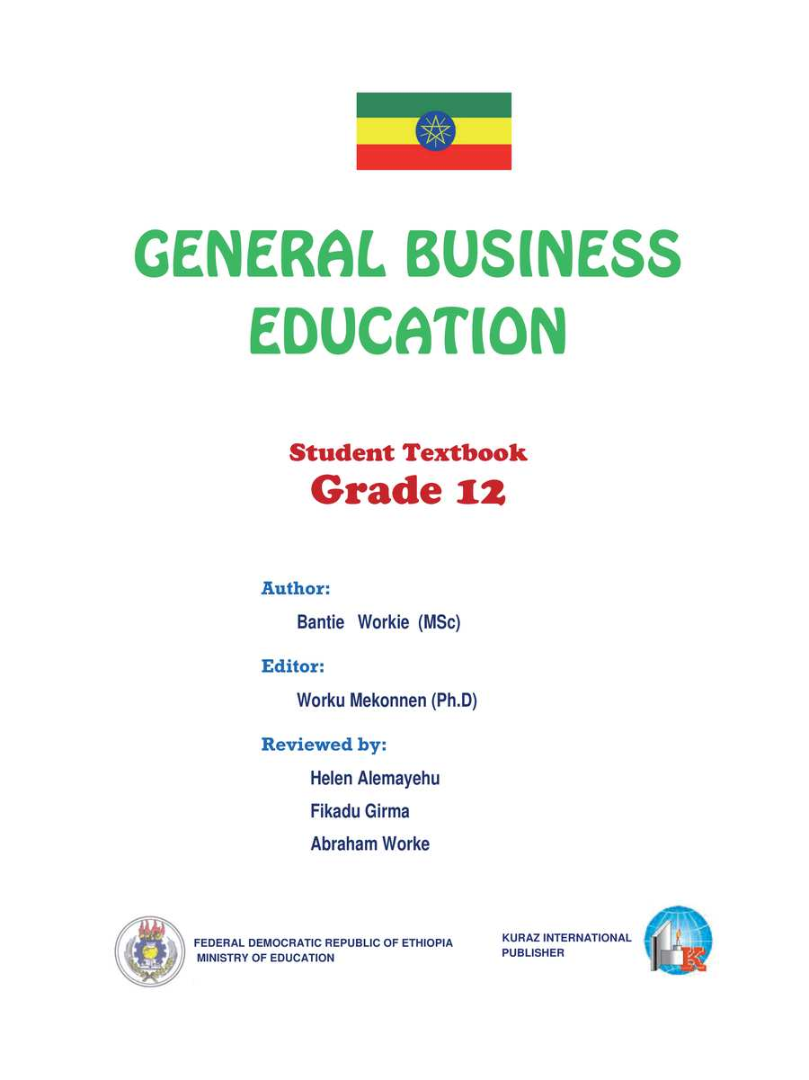 General Business grade 12                                  page 1