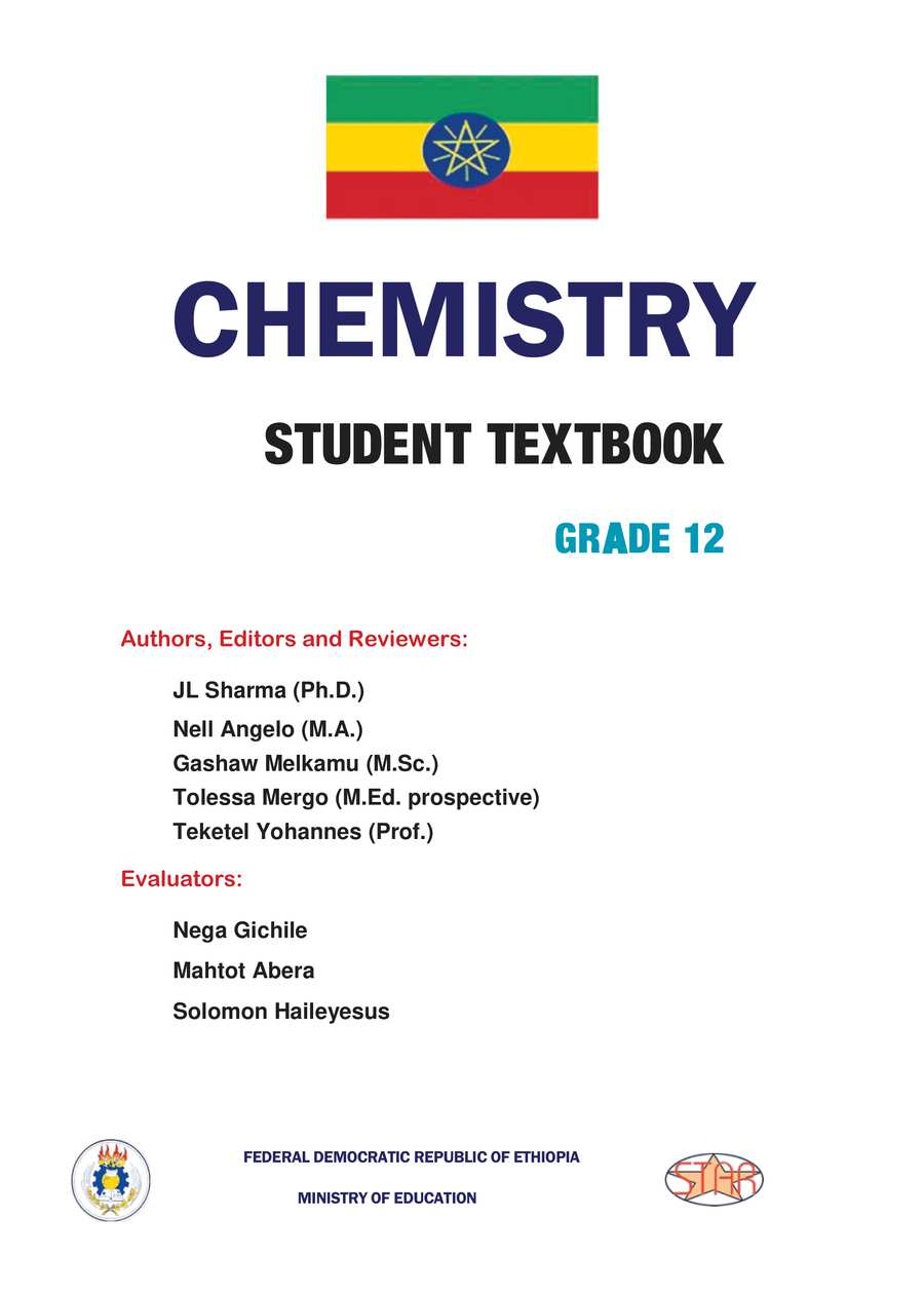 Chemistry grade 12                                  page 1