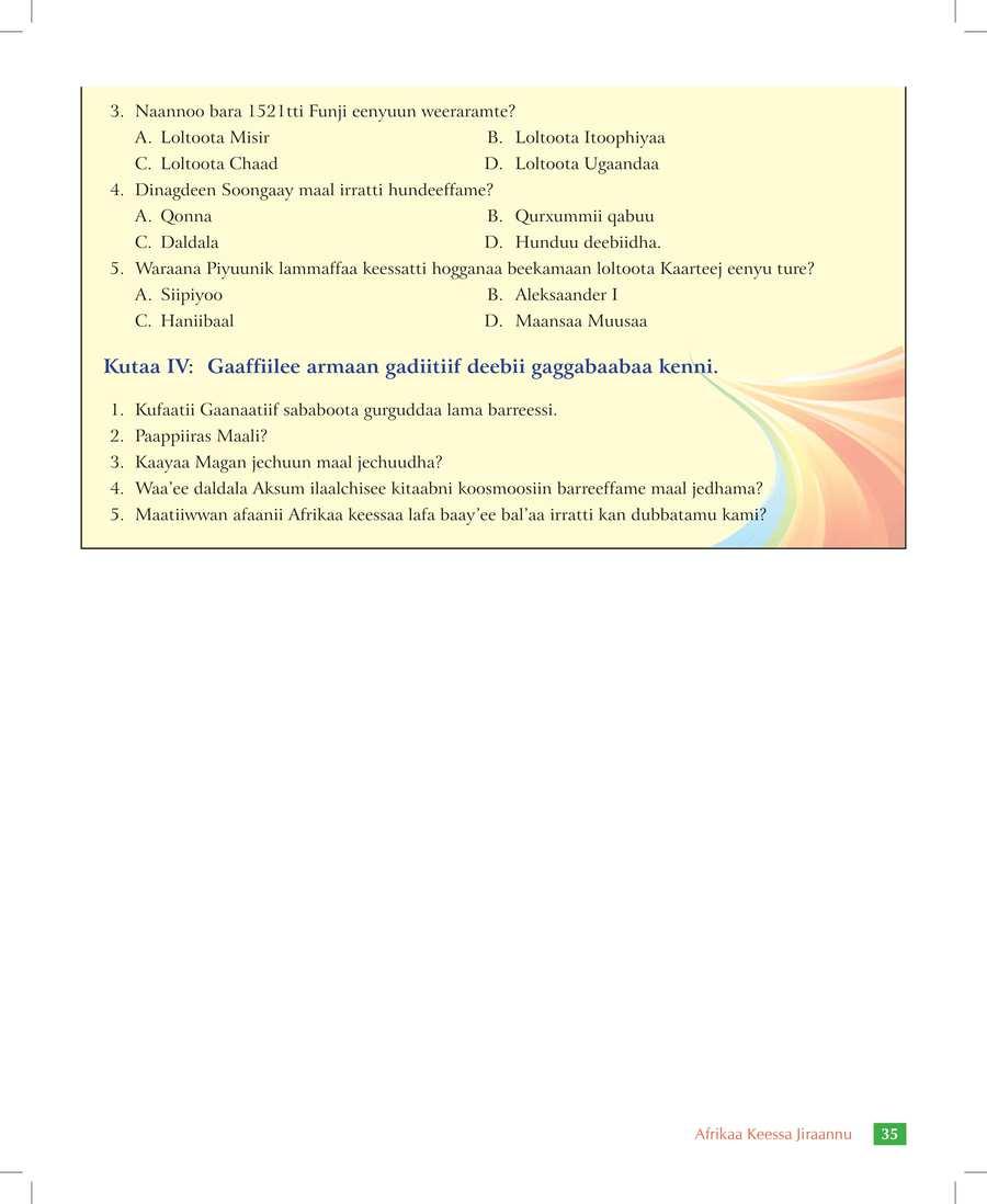 Social Studies grade 7                                  page 41