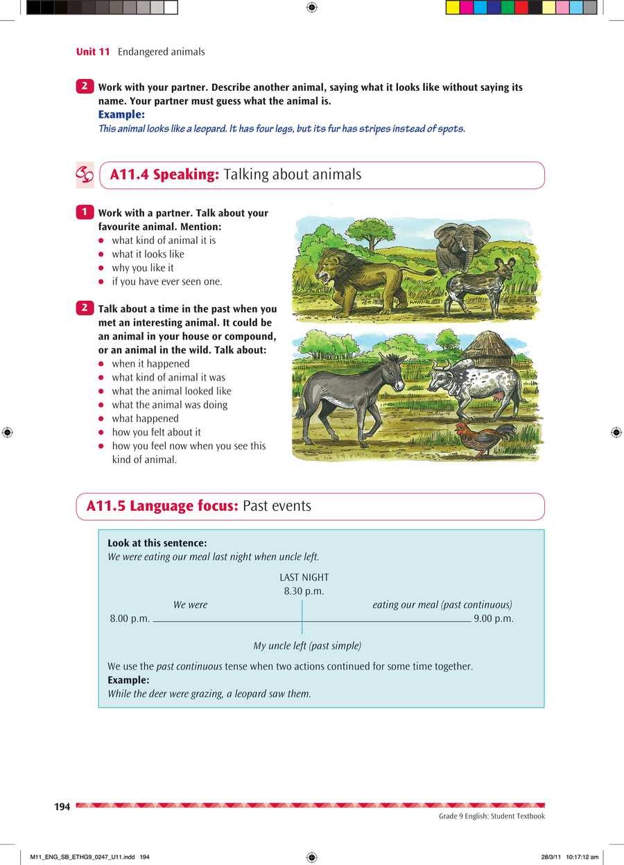 English grade 9                                      part 4                                  page 8