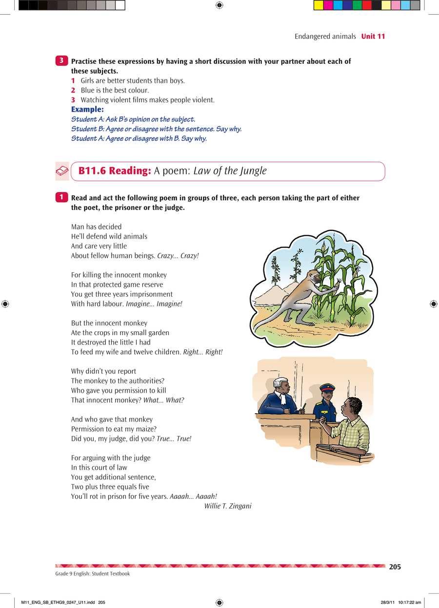 English grade 9                                      part 4                                  page 19