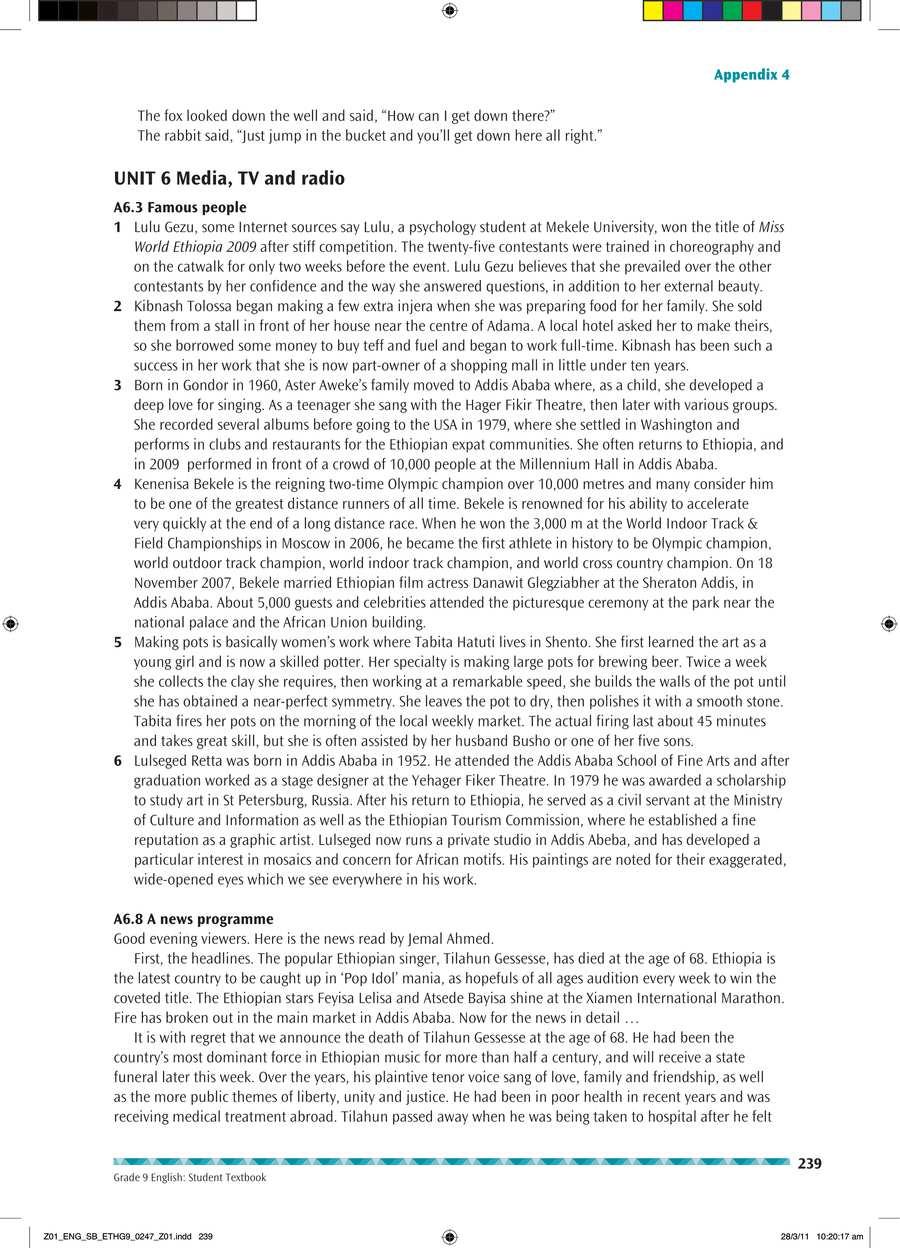 English grade 9                                      part 4                                  page 53