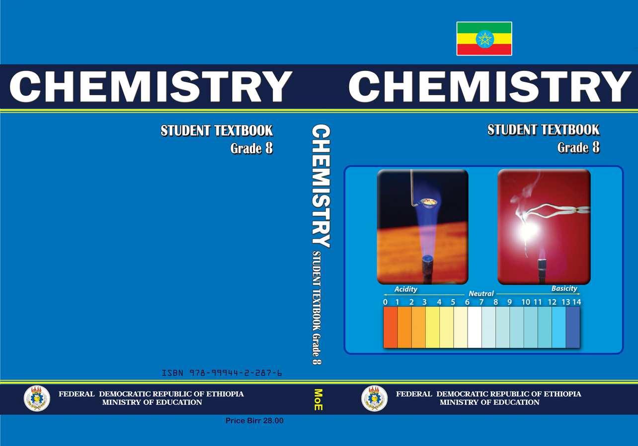 Chemistry grade 8                                  page 1