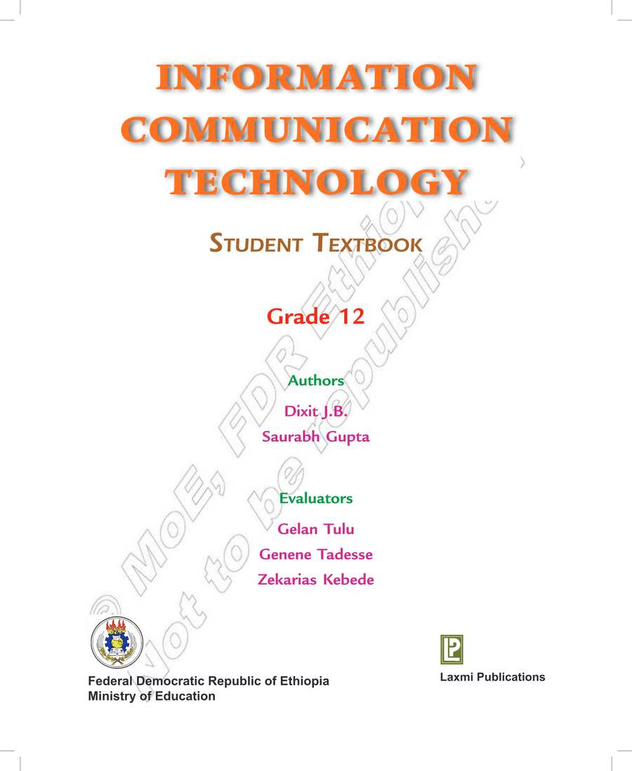 ICT grade 12                                  page 1