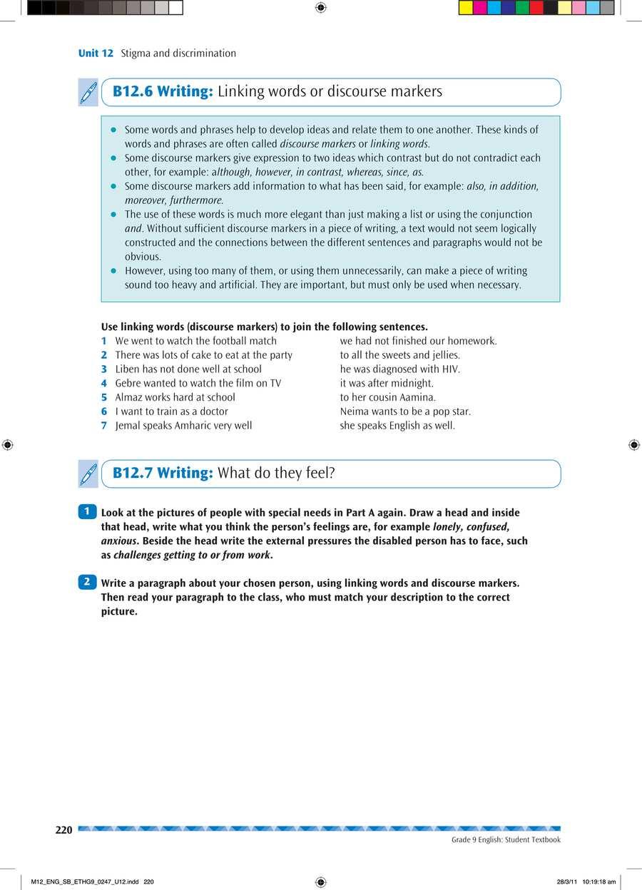 English grade 9                                      part 4                                  page 34