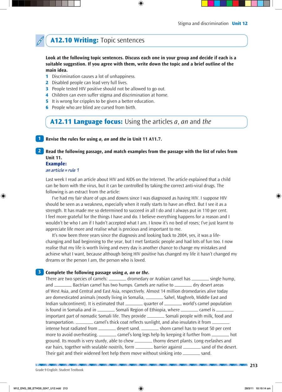 English grade 9                                      part 4                                  page 27