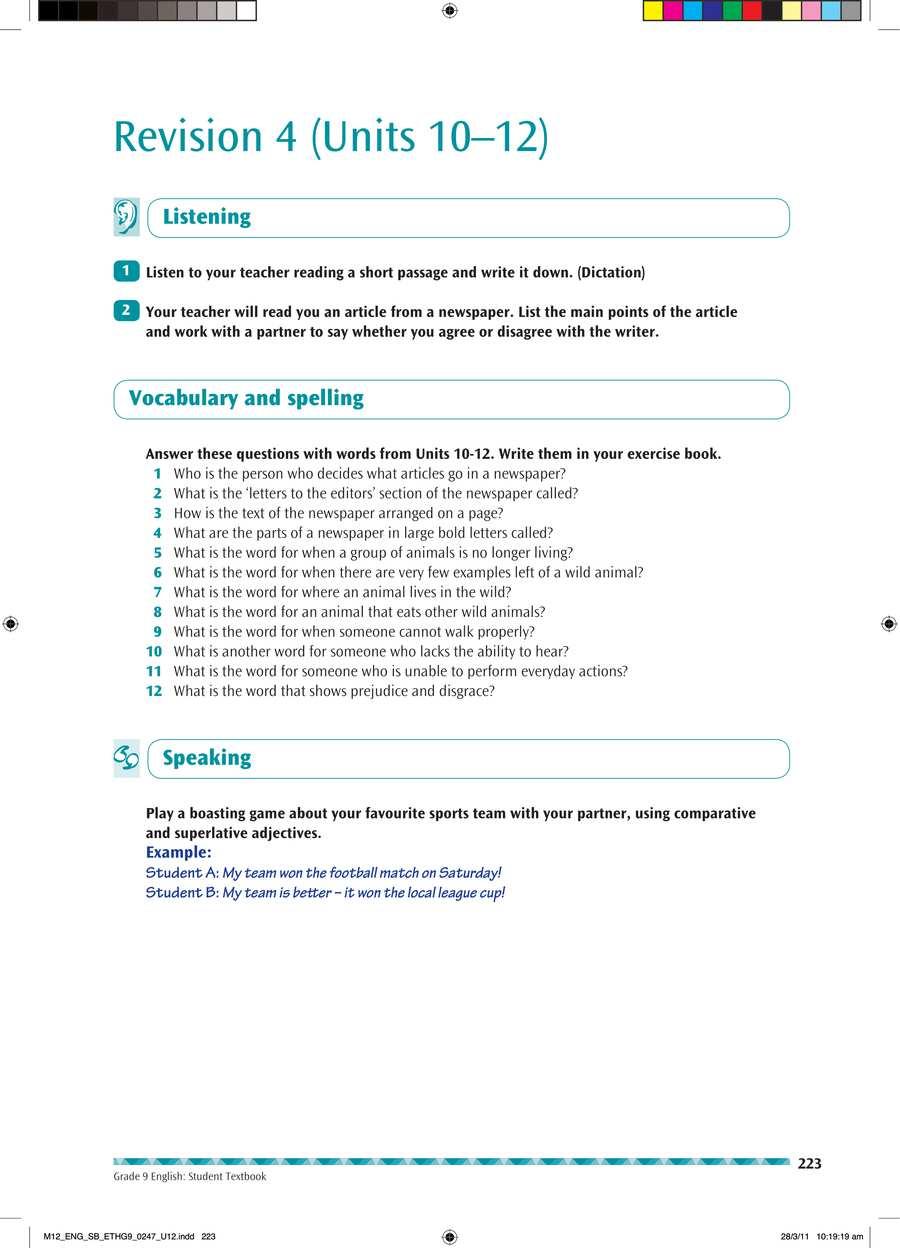 English grade 9                                      part 4                                  page 37